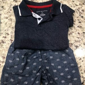 Tommy Hilfiger Short set 18 months